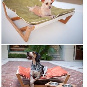 accessories   bamboo pet hammock bed with soft mat  19  off accessories   bamboo pet hammock bed with soft mat  from      rh   poshmark